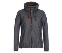 Jacket 'Tittis Galore' dunkelblau / braun