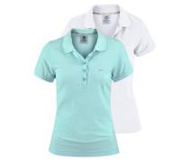 Poloshirt (Packung 2 tlg.) blau