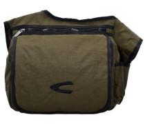 Messenger Bag Tasche 33 cm khaki / oliv