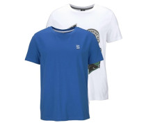 T-Shirt (2 Stück) blau