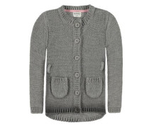Strickjacke grau