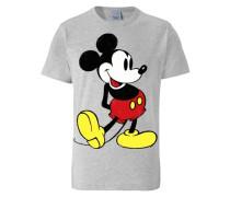 "T-Shirt ""Mickey Mouse"" grau"