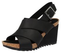 Sandalen 'Flex Sand' schwarz