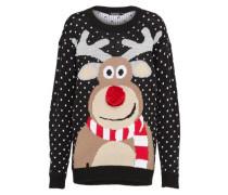 Pullover 'Florence Reindeer Pom Pom Christmas'