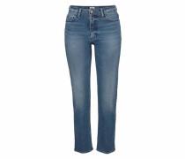 Straight-Jeans 'Suky' blue denim