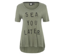 T-Shirt 'Sea You' grün
