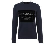 Sweatshirt mit Flockdruck