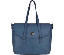 Milena Handtasche 40 cm blau