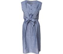 Kleid blau / rauchblau