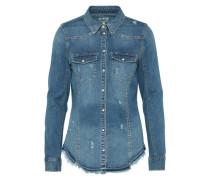 Jeans Bluse 'onlWENDY' blue denim