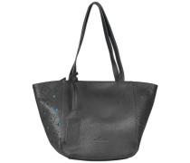 Viola Shopper Tasche 44 cm schwarz