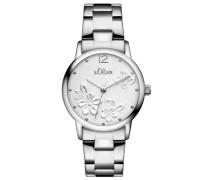 Armbanduhr »So-3139-Mq« silber