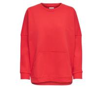 Sweatshirt hellrot