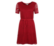Kleid 'Cap sleeved paisley lace' rot