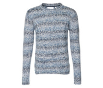 Pullover in Melange-Design 'Efileo' blau