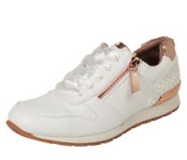 Sneaker mit Zipper weiß