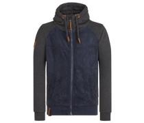 Jacket 'Trallafitti Titti II' nachtblau / schwarzmeliert