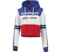 Sweatshirt blau / rot / weiß