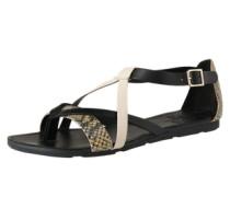 Sandalen 'Minho' beige / schwarz
