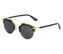 Sonnenbrille 'Chiara' gold / schwarz