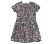 Kinder Kleid rosa / schwarz
