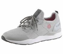 Sneaker Low 'Melek' hellgrau