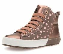 Sneaker kupfer / weiß