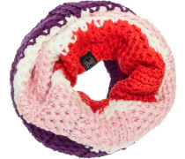 Neckwarmer Knitted & Polar Junior Loop aubergine / rosa / pitaya