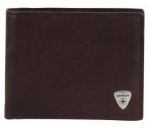 Harrison Geldbörse Leder 12cm braun