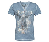 Shirt 'Berghero' taubenblau