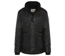 Jacke Garam Fake Leather schwarz