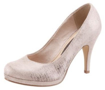 High Heel Pumps mit Plateau pink