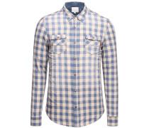 Shirt Sango blau