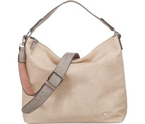 Handtasche 'Jessy' beige / hellgrau