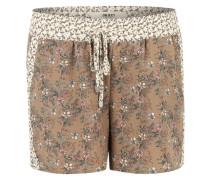 Shorts 'OBJVega' dunkelbeige