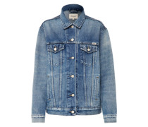 Jeansjacke 'trucker Jacket' blue denim