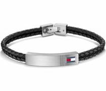 Armband 'Casual Core 2701010' schwarz / silber