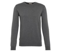 Pullover mit Kaschmir-Anteil dunkelgrau
