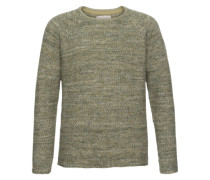 Pullover 'knit Structure' khaki