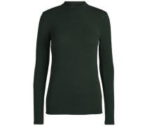 Rollkragen-Pullover mit langen Ärmeln grün
