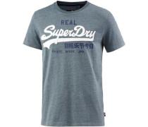 T-Shirt Herren taubenblau