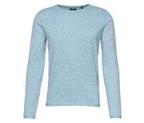 Pullover 'modern basic light sweater' hellblau