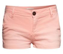 Leichte Shorts aus Baumwollmix 'Wylde' orange