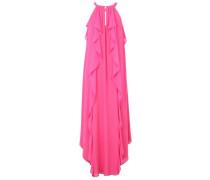 Kleid Rundhals pink