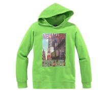 """Kapuzensweatshirt """"ny"""" für Jungen grün"""