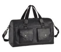 Weekender Tasche mit Umhängegurt schwarz