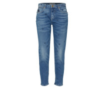 'Petit Ami - Indigo Heart' Tapered Jeans blau