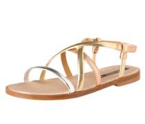 Sandalen 'Ayan' bronze / gold / silber