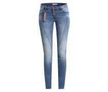 Skinny Jeans 'Baltimore' blau