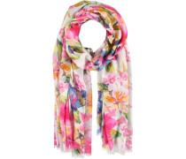 Blumen-Schal pink